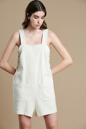 Avant Garde jumpsuit in oatmeal colour