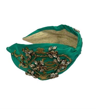 Namjosh green handmade headband