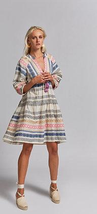 NEMA Apollonis mini dress with embroidery 2012