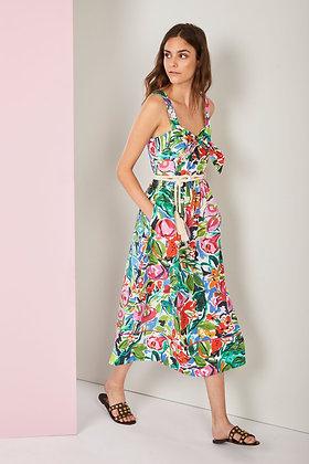 Nenette floral midi dress ARTU