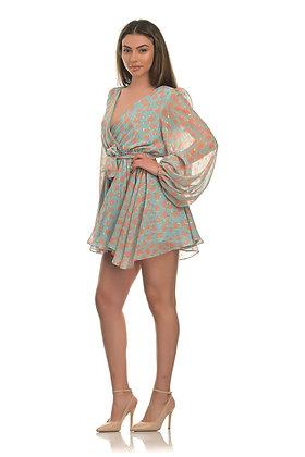 Avant Garde mint coral dress S2030042