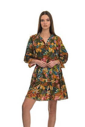 Connor & Blake floral pattern short dress