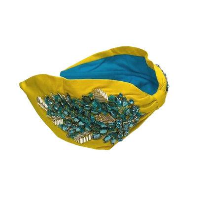 Namjosh mustard handmade headband