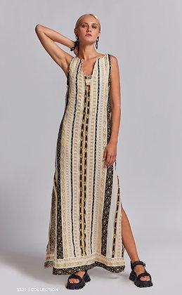 NEMA Hestia maxi dress with embroidery 2009