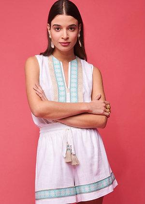 NEMA Sophia white shorts 30031