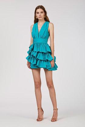 Nenette Milano emerald short dress Affo