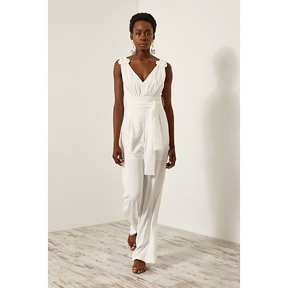 Access jumpsuit with buckle on the straps 5501607