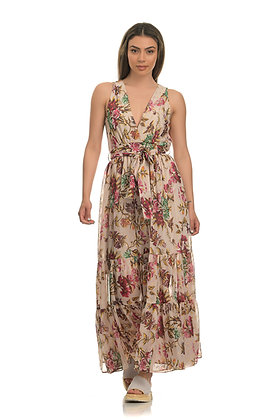 Avant Garde floral long dress S2020084