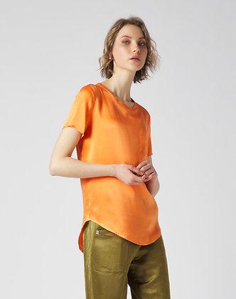 Manilla Grace short sleeve blouse with pocket C335