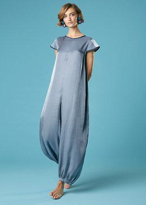 Alessia Santi grey jumpsuit SD25040