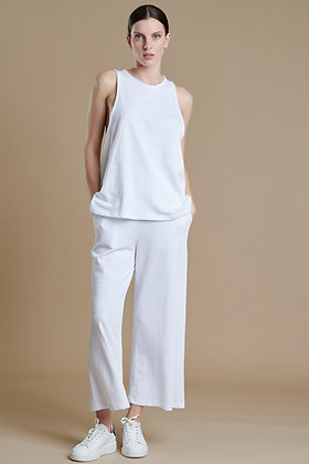 House of Angels white top with crossed back S51752