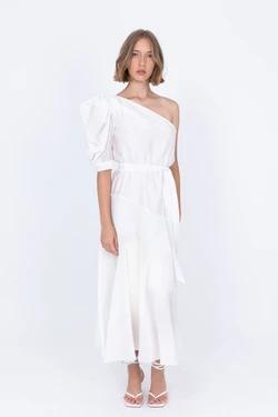 Sabina Musayev off white long dress