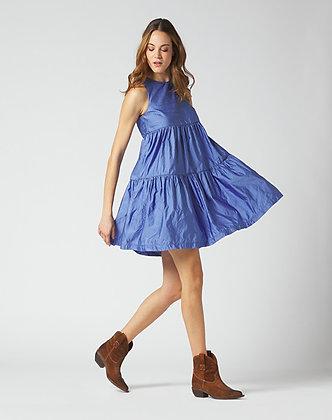 Manilla Grace blue short dress A137