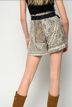 Pinko chimera shorts twill bandana