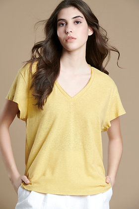 House of Angels yellow T-shirt S21727