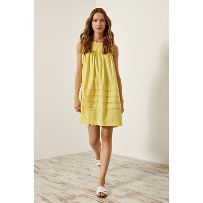 Access girly short dress in yellow colour 3021753