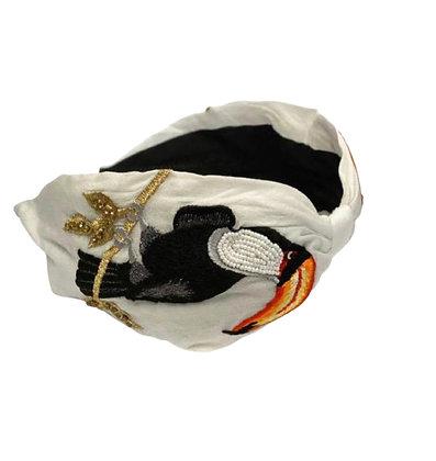Namjosh handmade headband bird