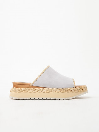 Paloma Barcelo Aparoris ice leather wedges