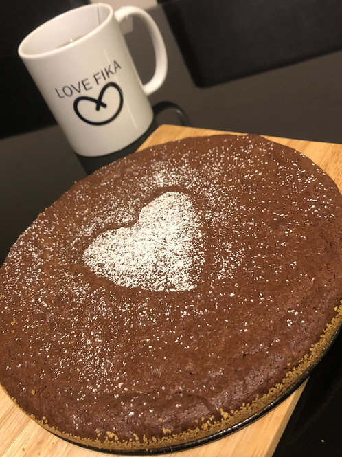Kladdkaka (Chocolate Mud Cake)