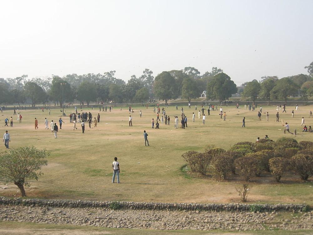 Gulshan-e-Iqbal Park, Lahore, Pakistan