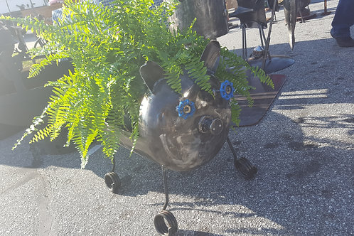 Pig Planter/Grill/Fire Pit