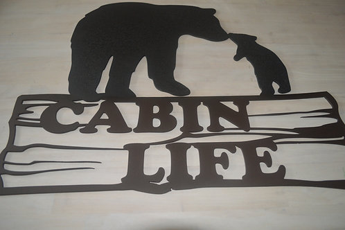 Cabin Life-Momma & Baby Bear