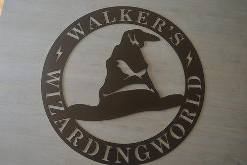 Wizarding World Sign