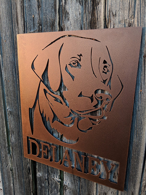 Personalized Sign with Favorite Pet or Person