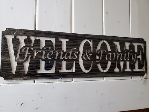 Clearance: WELCOME-Family & Friends