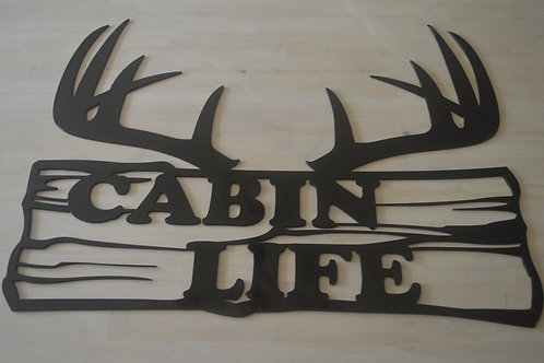 Cabin Life--Antlers