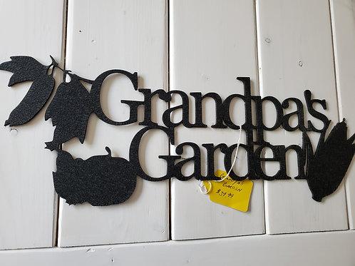 Clearance: Grandpa's Garden