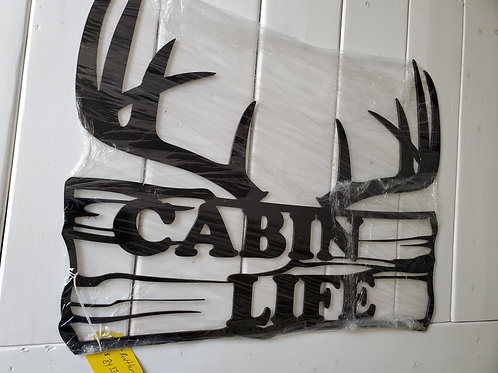 Clearance: Cabin Life--Antlers