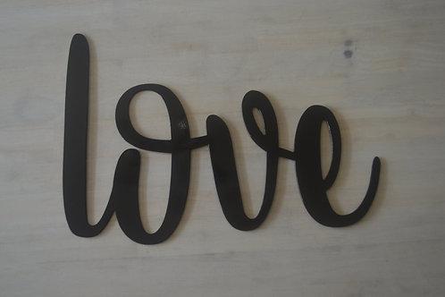 """love"" Cursive"