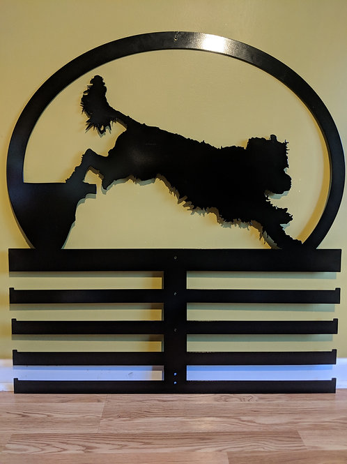 Portuguese Water Dog Award and Ribbon Rack