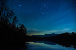 Stars Over Price Lake - Blue Ridge Parkway - NC