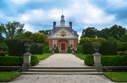 The Governors Palace Rear View, Colonial Williamsburg