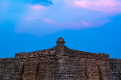 Sunset at Castillo de San Marcos