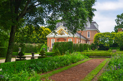 The Governors Palace, Garden View, Colonial Williamsburg