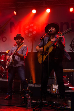 Chance McCoy and Gill Landry of Old Crow