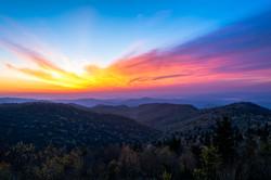 Majestic Blu Ridge Sunrise