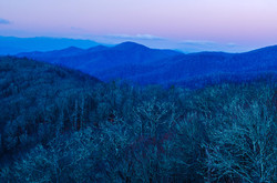 Winter in the Smoky's