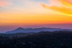 Sunrise Over Mt. Pisgah