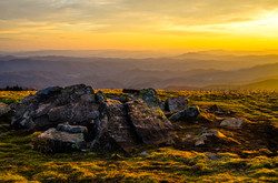 Golden Hour in the Roan Highlands AT