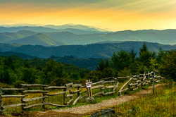 Sunset at Grayson Highlands