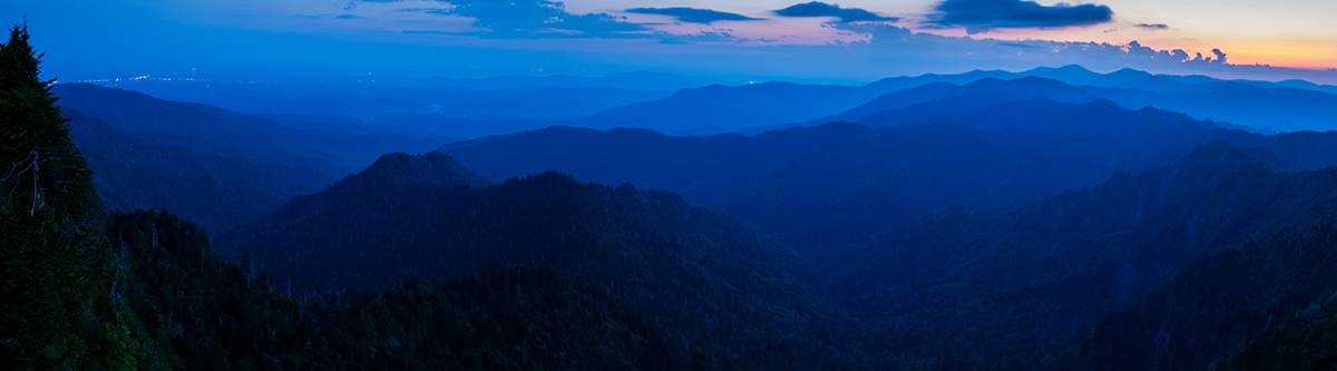 Blue Hour from the Jump Off