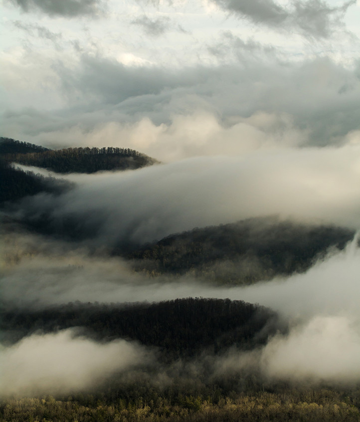Foggy Mountains Layers