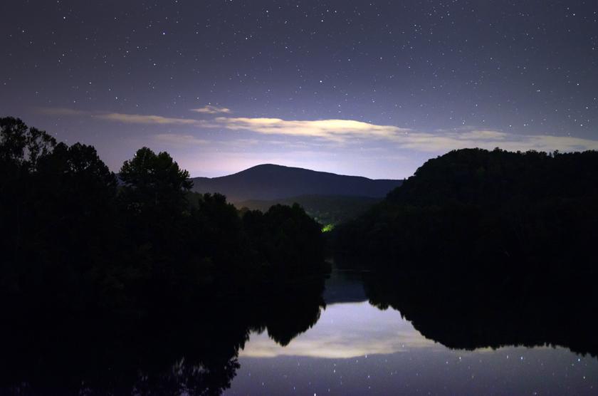 Nightfall Over the James