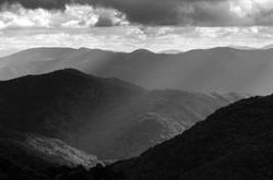 Light Along the Blue Ridge Mountains