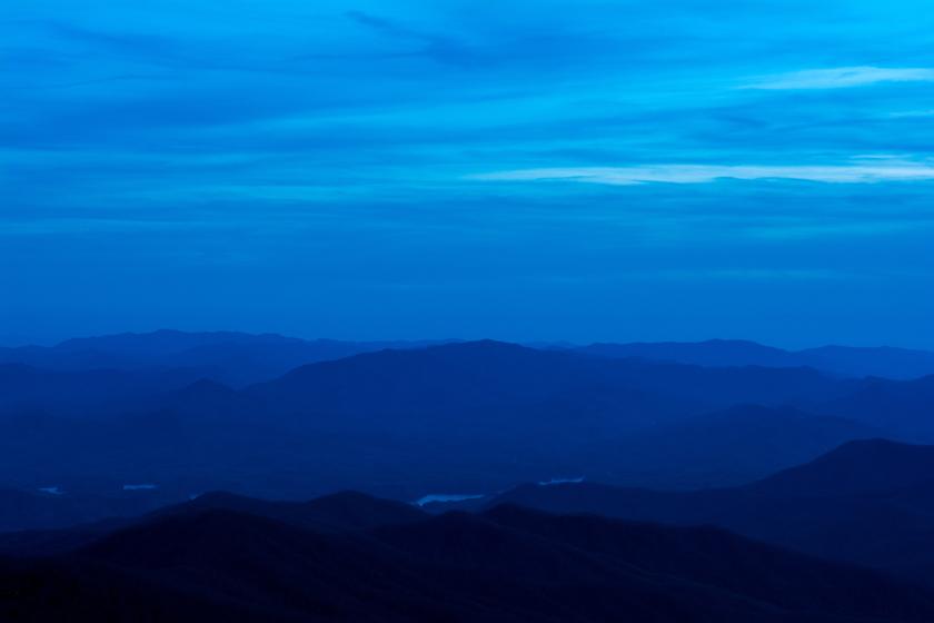 Blue Hour Over Fontana Lake