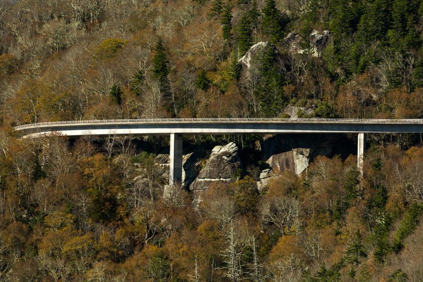 Linville Viaduct, BRP